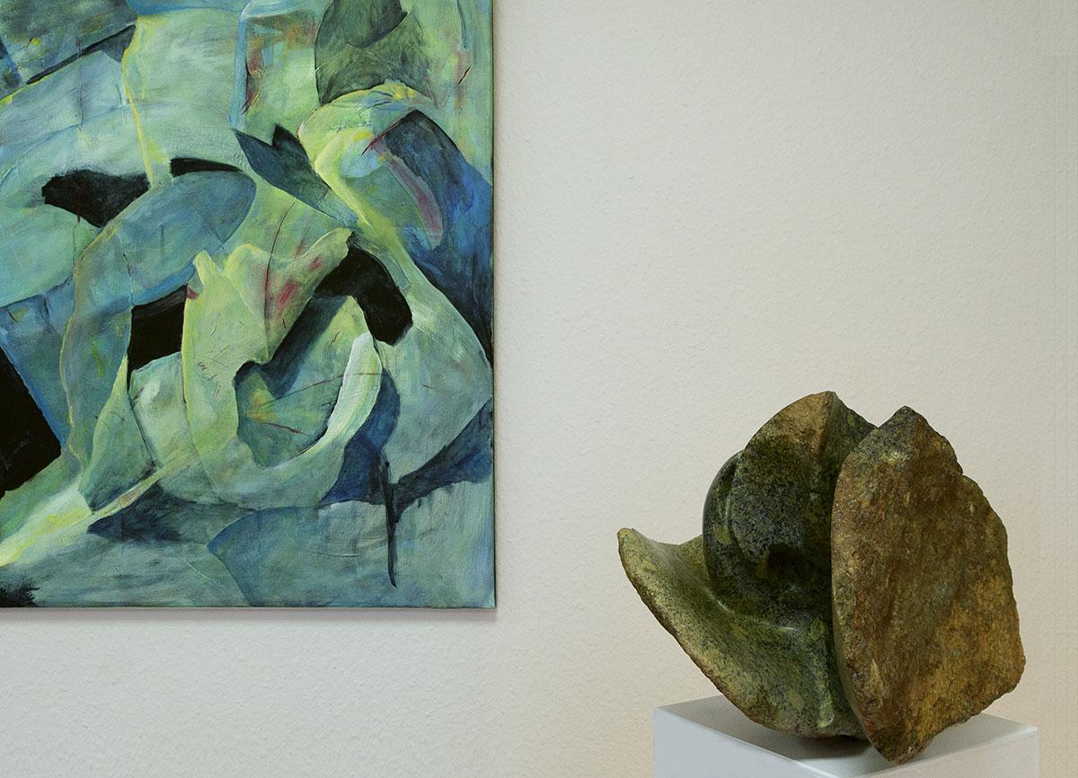 Wiebke Wunstorf   In Erwartung [Serpentin opal]
