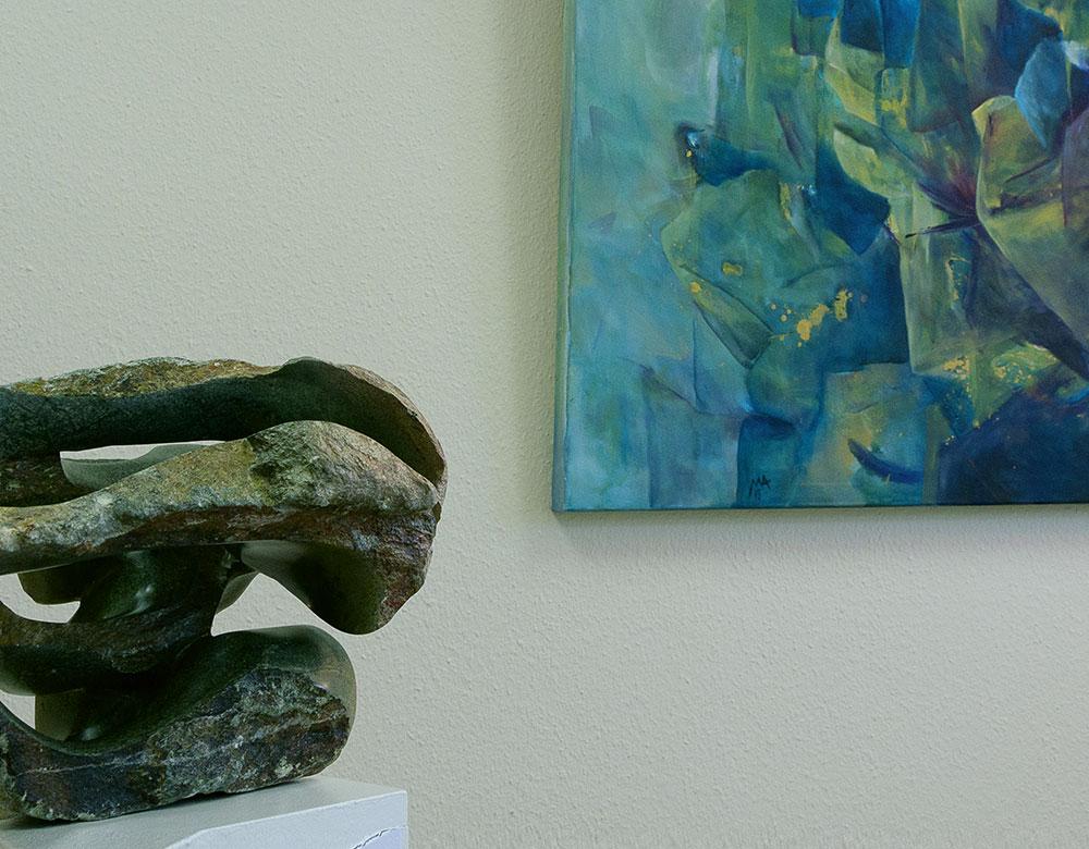 Wiebke Wunstorf   Mirakel [Serpentin opal]