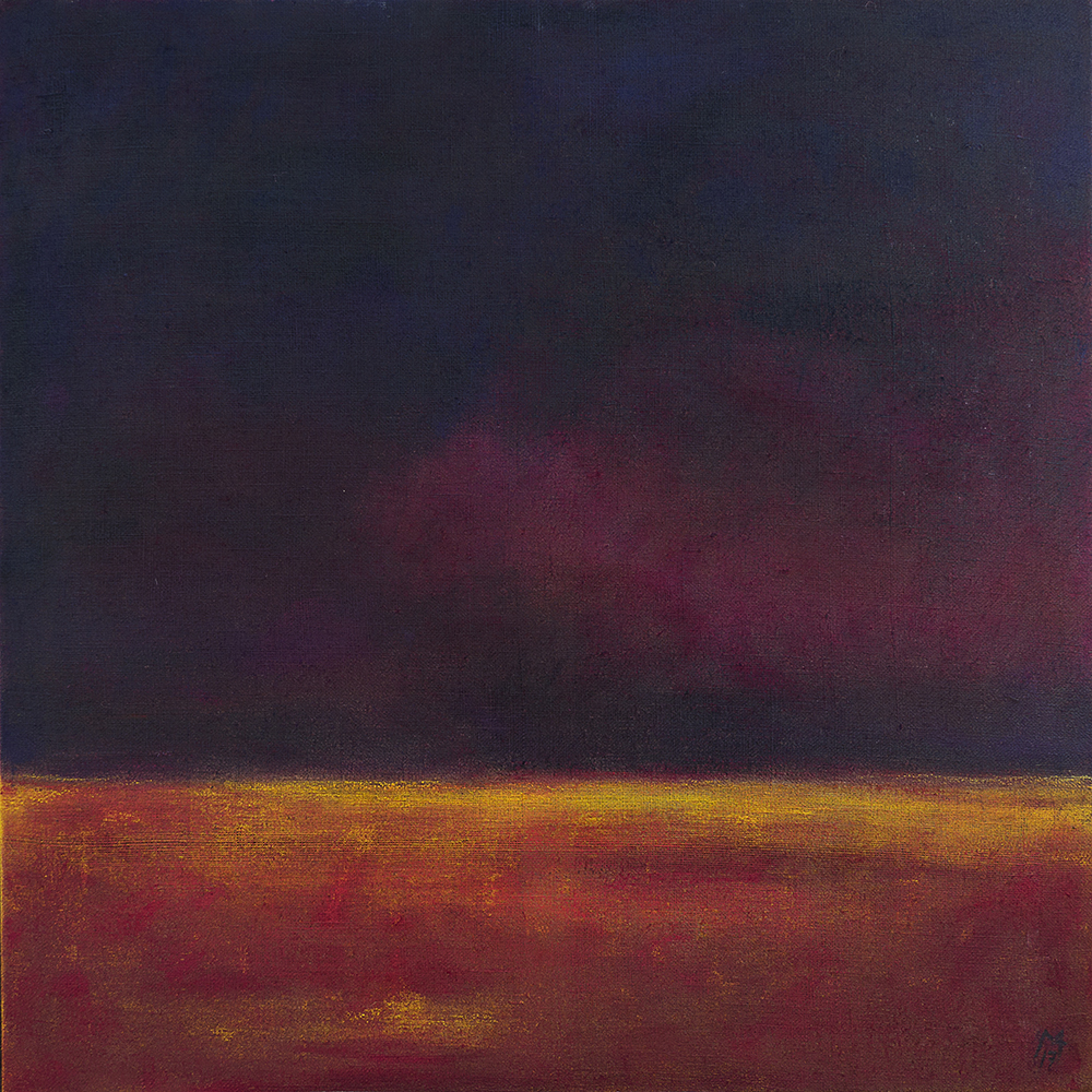 Vollendung [Gouache, Pigment, Acryl, 2017]