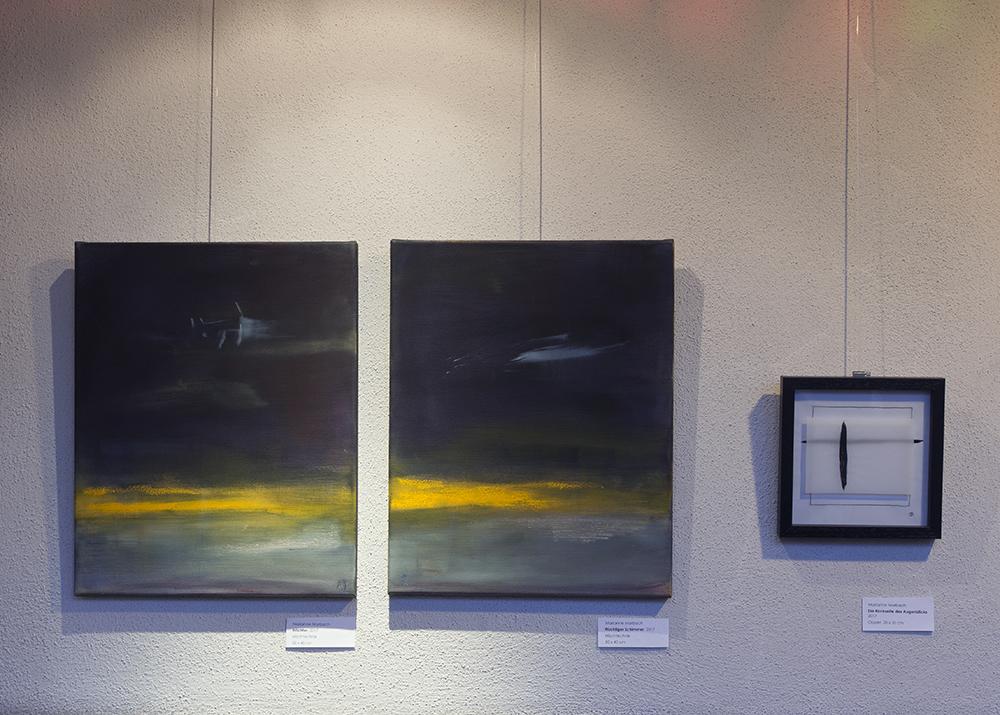 "Ausstellung ""Horizonte"", Kirche am Rockenhof Hamburg, 2018"